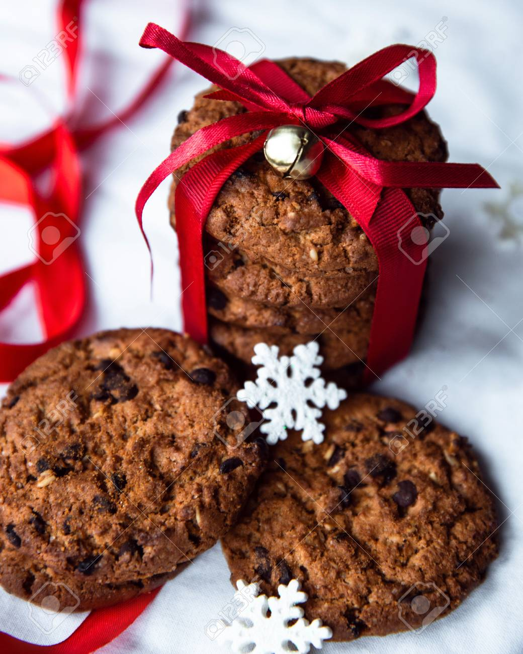 Natural Handmade Organic Snack For Healthy Christmas Breakfast With ...