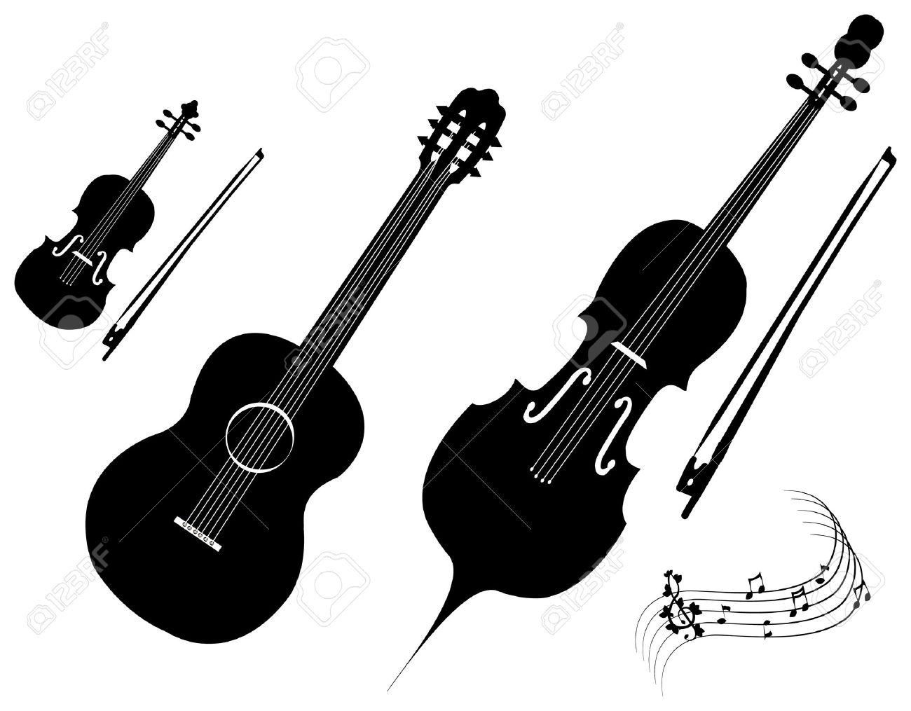 Violin Bow Clipart  violin  guitar  cello