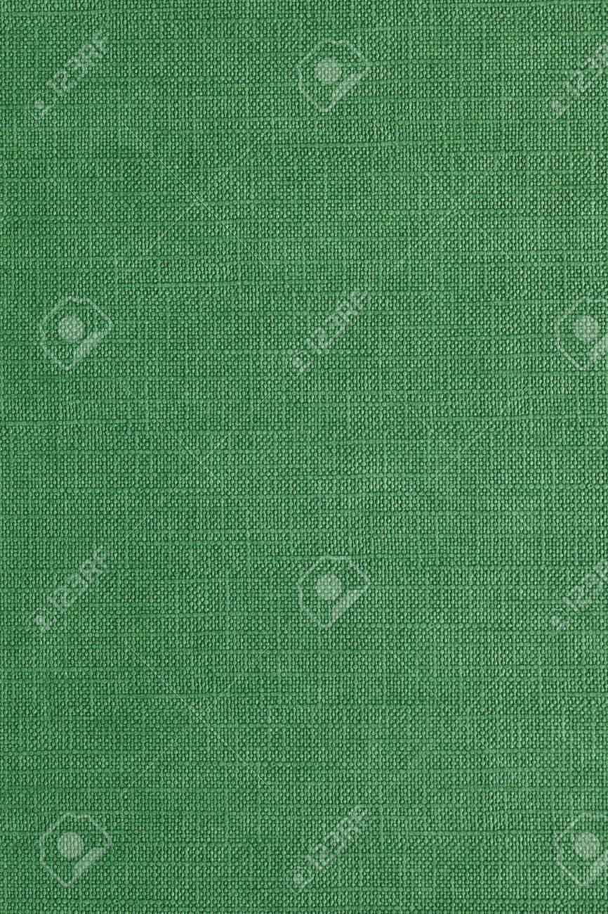 High resolution green linen pattern - 13309892