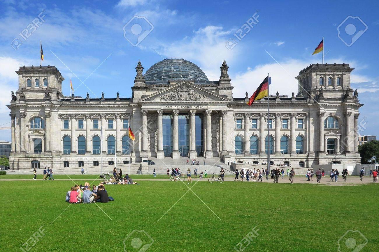 The German Reichstag, Berlin, Germany - 15858581
