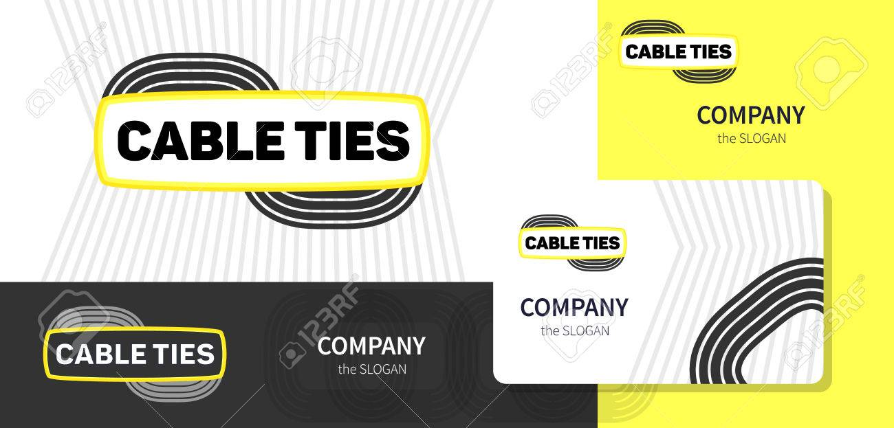 Logo and corporate style business card for a company dealing logo and corporate style business card for a company dealing with wire cables and accessories colourmoves