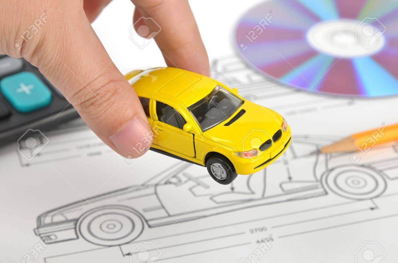 Car blueprint stock photo picture and royalty free image image car blueprint stock photo 12006749 malvernweather Image collections