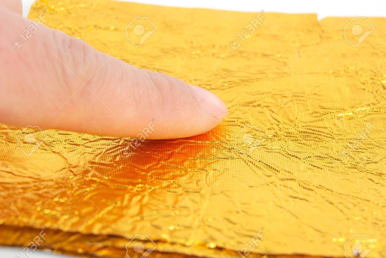 Gold foil Stock Photo - 13263578
