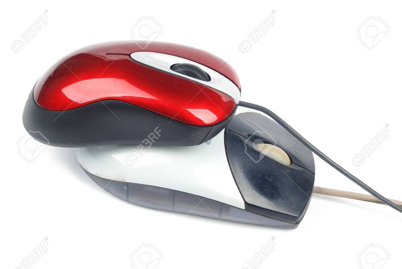 Two computer mouse Stock Photo - 13480998