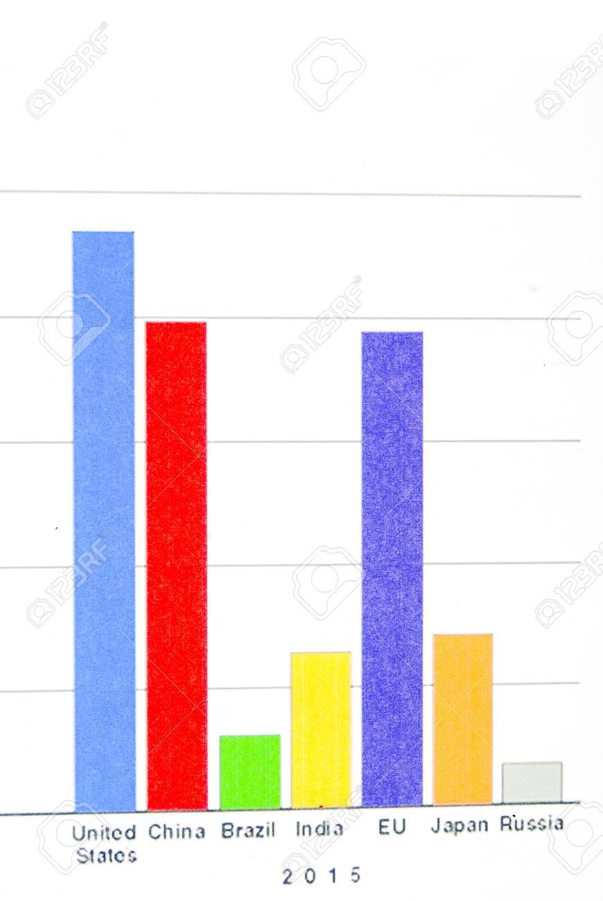 Financial graph Stock Photo - 13812513