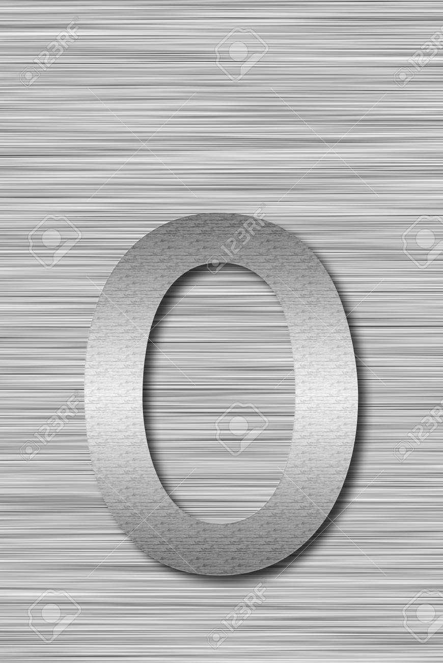 Stainless steel letter Stock Photo - 13975690