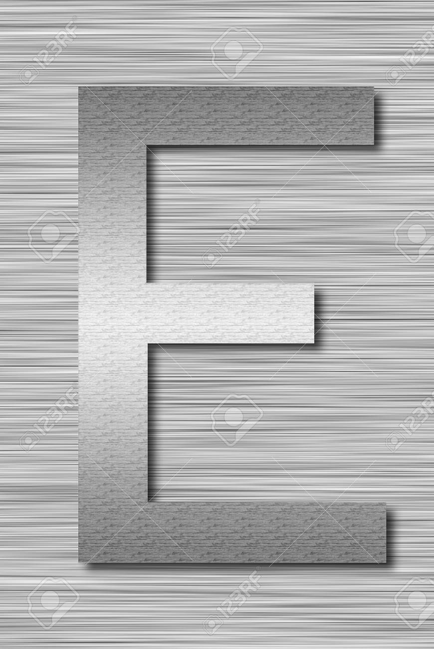 Stainless steel letter Stock Photo - 13975726