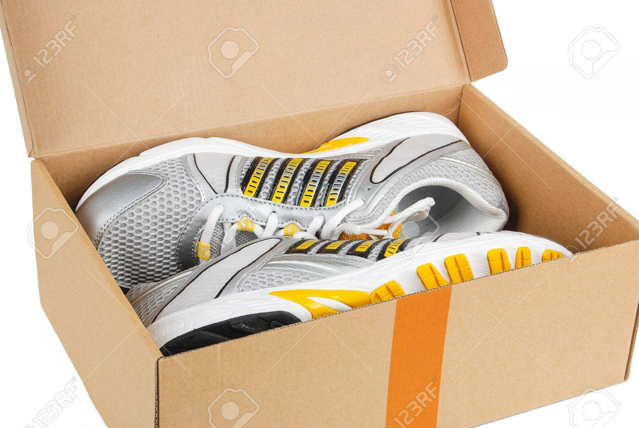 Sport shoes in box Stock Photo - 14050531 & Sport Shoes In Box Stock Photo Picture And Royalty Free Image ... Aboutintivar.Com