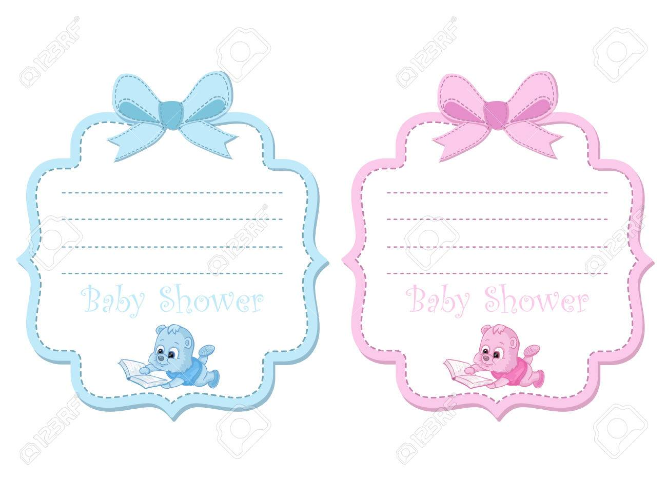 Tarjeta De Invitación Baby Shower