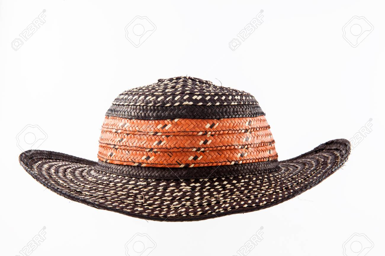 35df3603016 Traditional Hat From Colombia  Sombrero Vueltiao Stock Photo ...