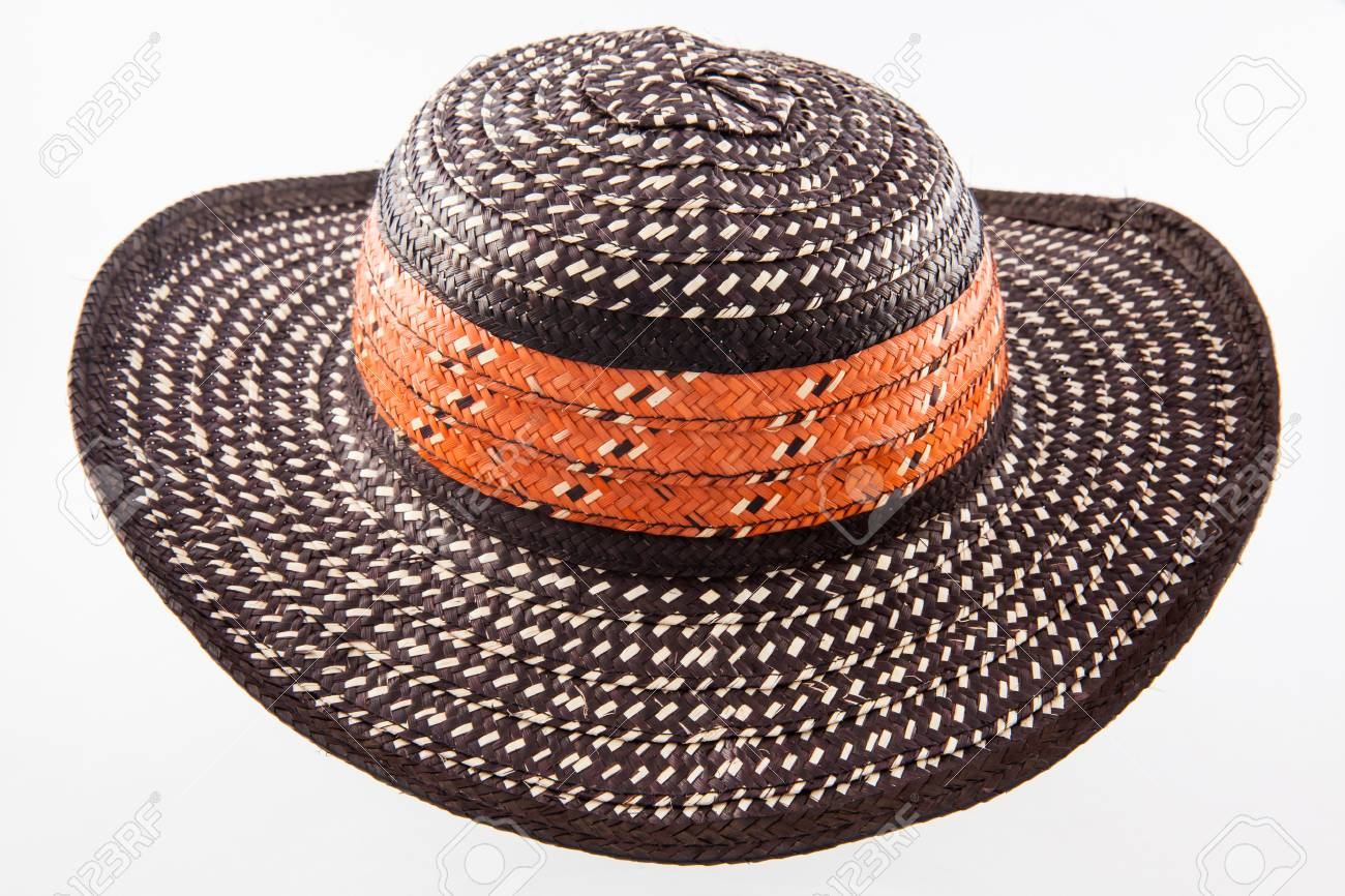Traditional Hat From Colombia  Sombrero Vueltiao Stock Photo ... 9359f3ee8d56