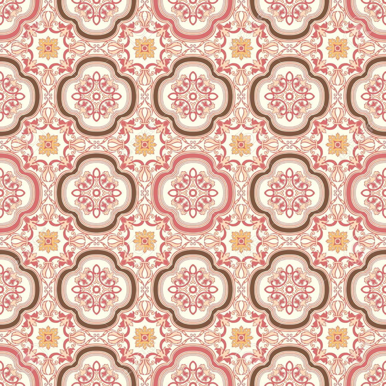 background vintage flower seamless floral pattern abstract