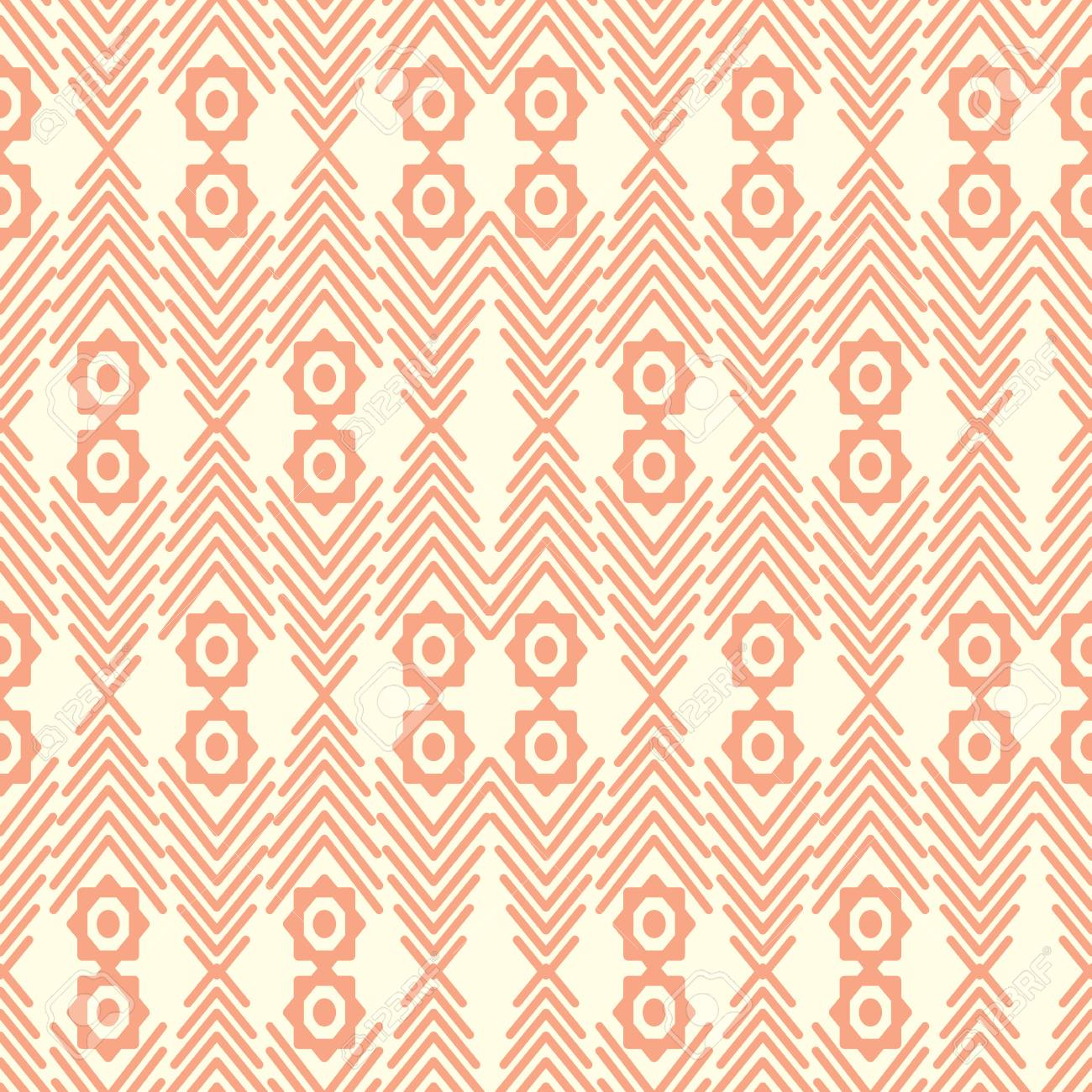Abstract seamless ethnic pattern. Seamless pattern can be used for wallpaper, pattern fills, web page background, surface textures. - 31027507