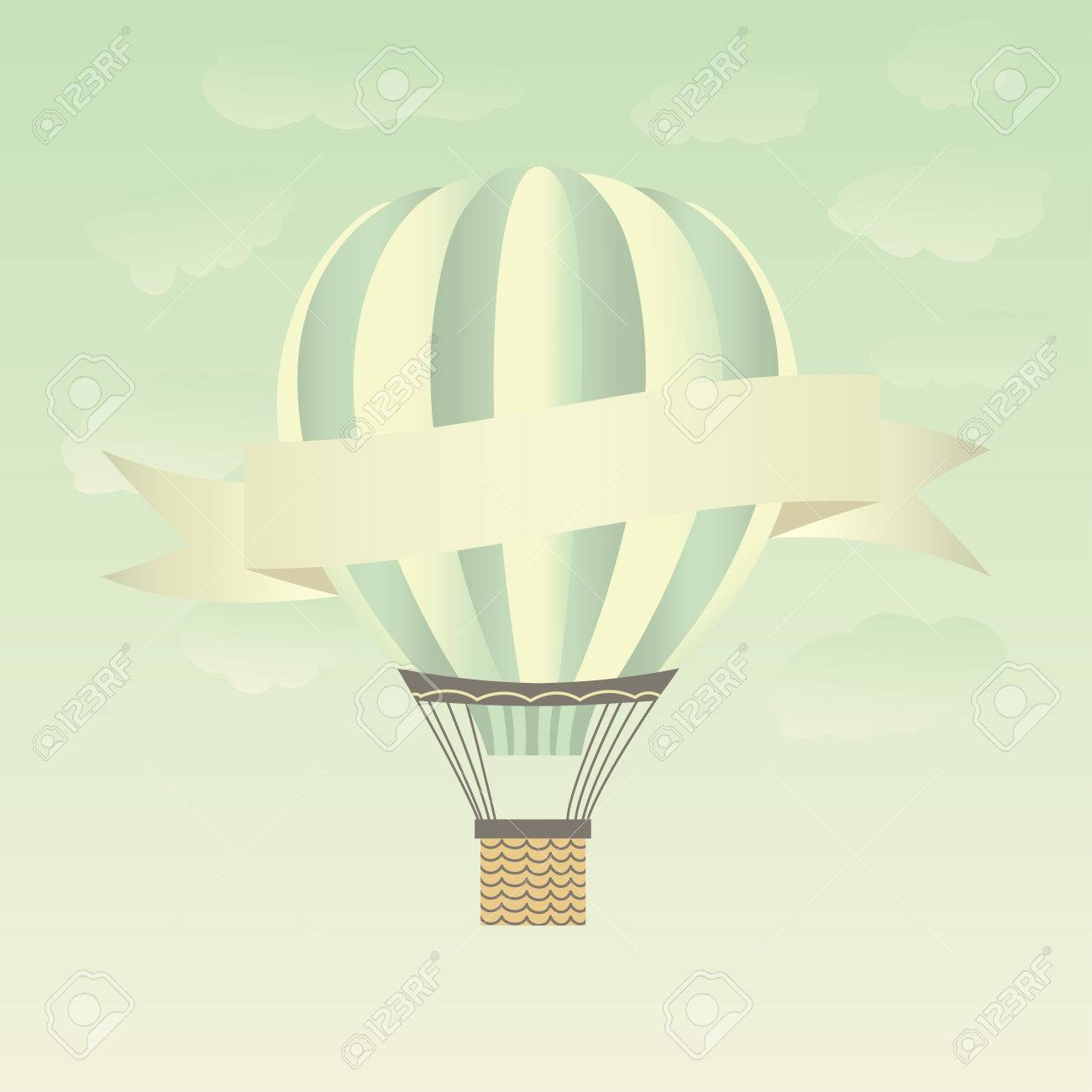 Hot air balloons in the sky. - 35171926