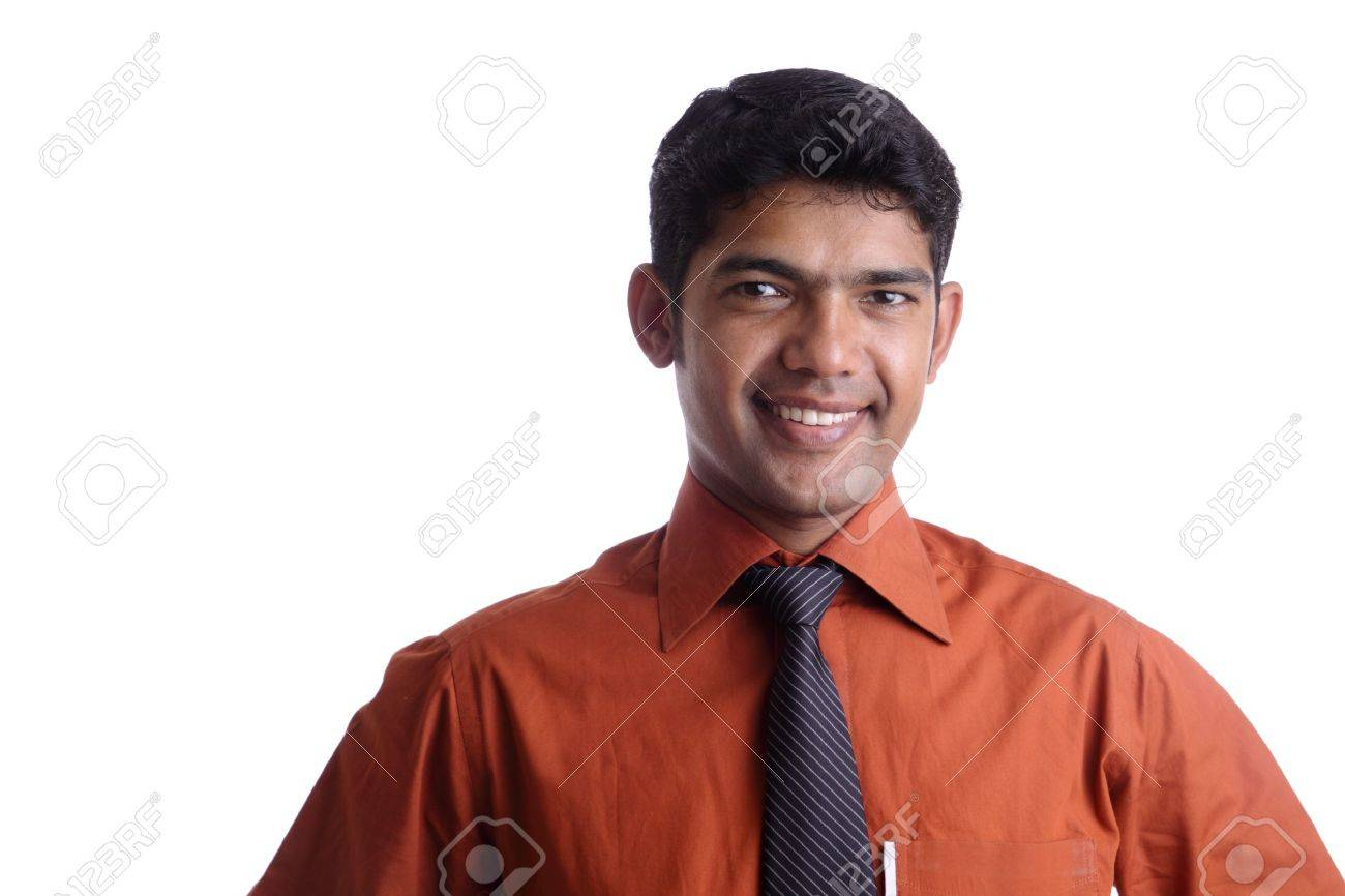 Indian business man posing to the camera. Stock Photo - 12176590