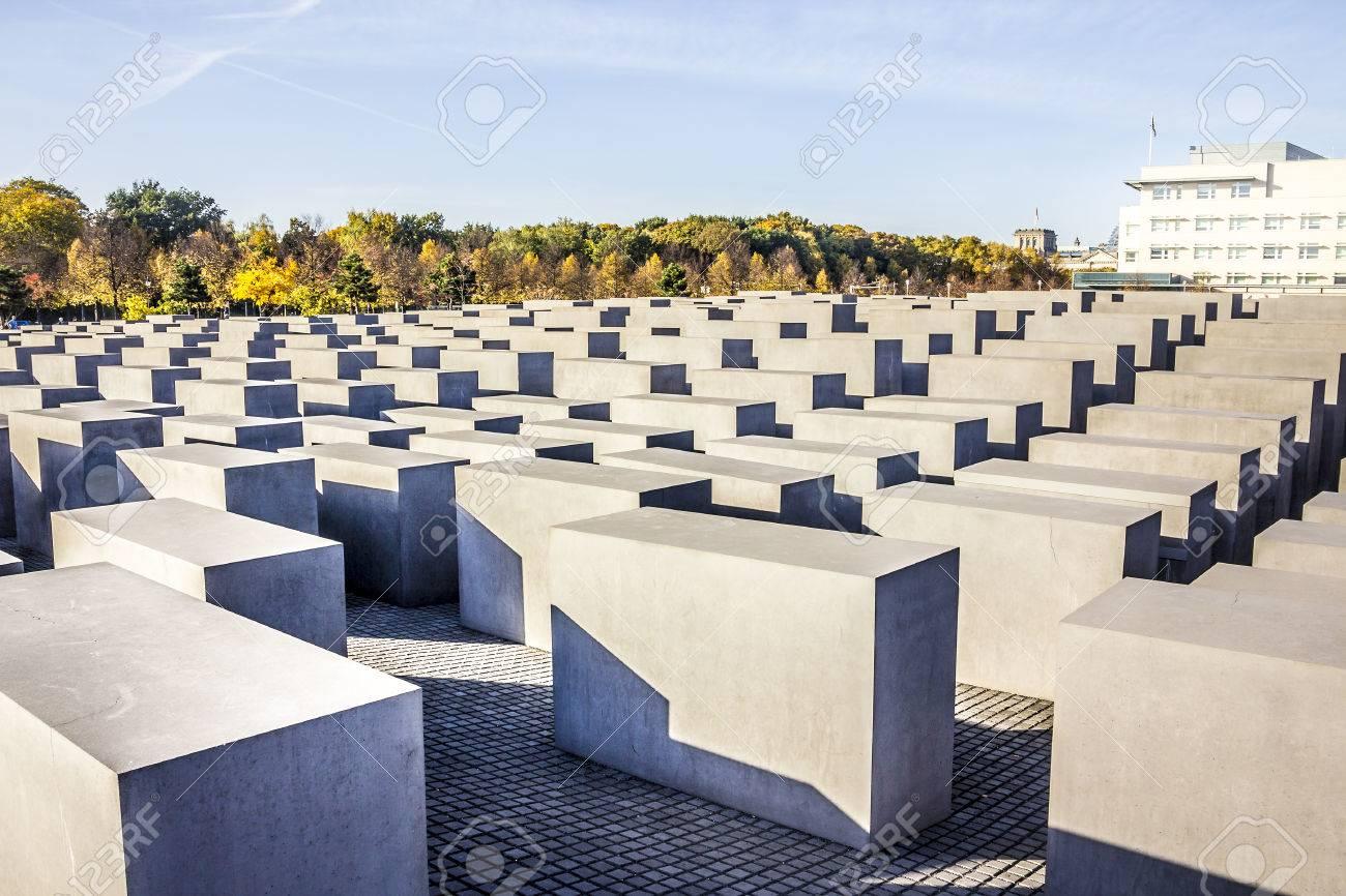ベルリンの中心部でホロコースト...