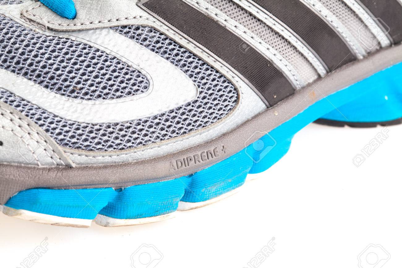 JANUARY 27, 2015 THAILAND : running shoes of the brand