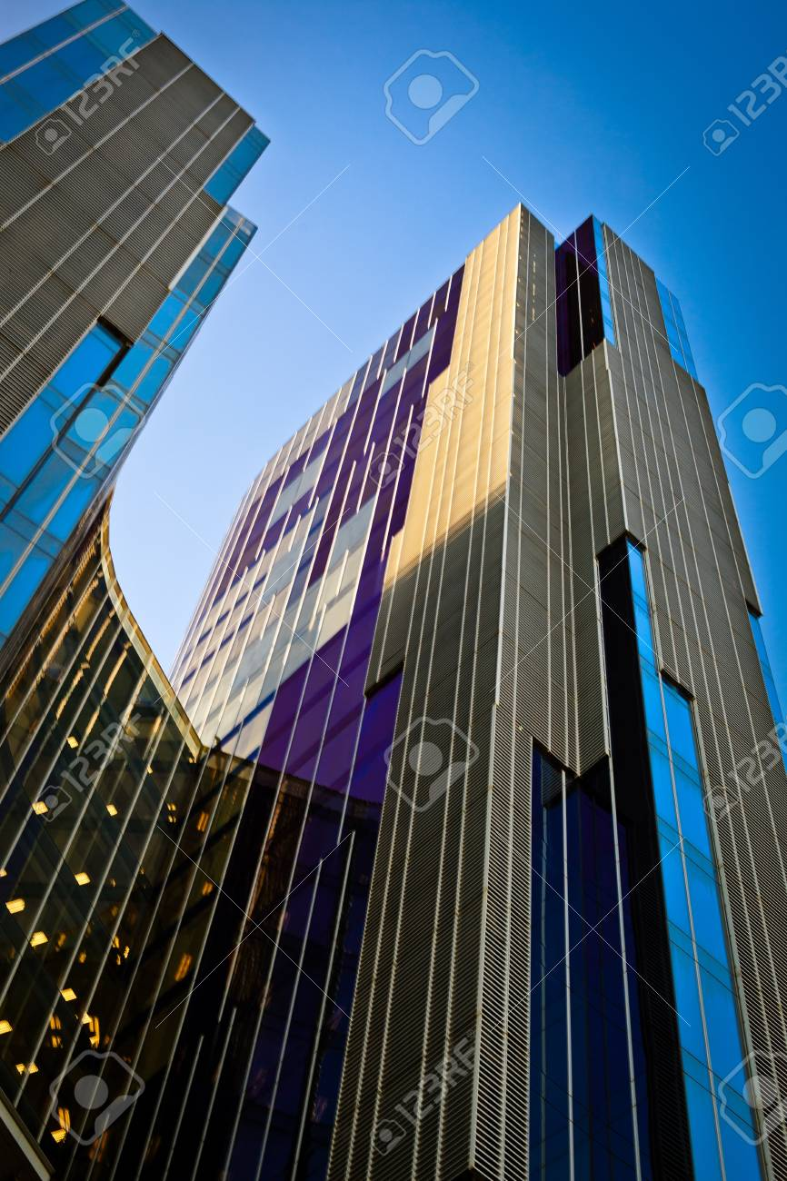 Building made of glass Stock Photo - 10669563