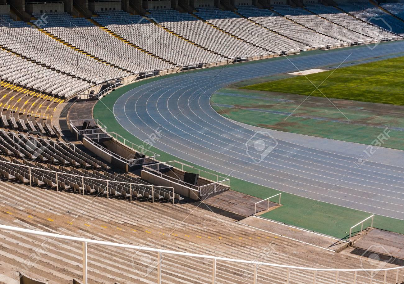 Old Stadium in Barcelona,spain