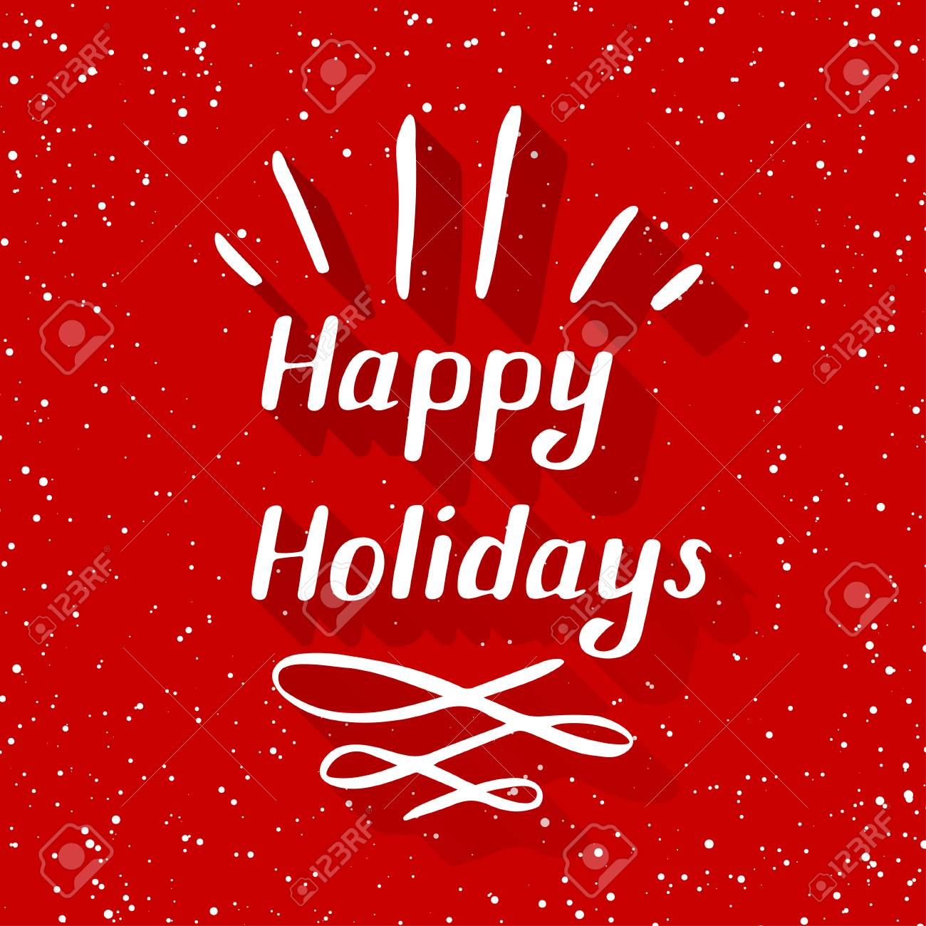 Happy Holidays Small Stock Photo Picture And Royalty Free Image