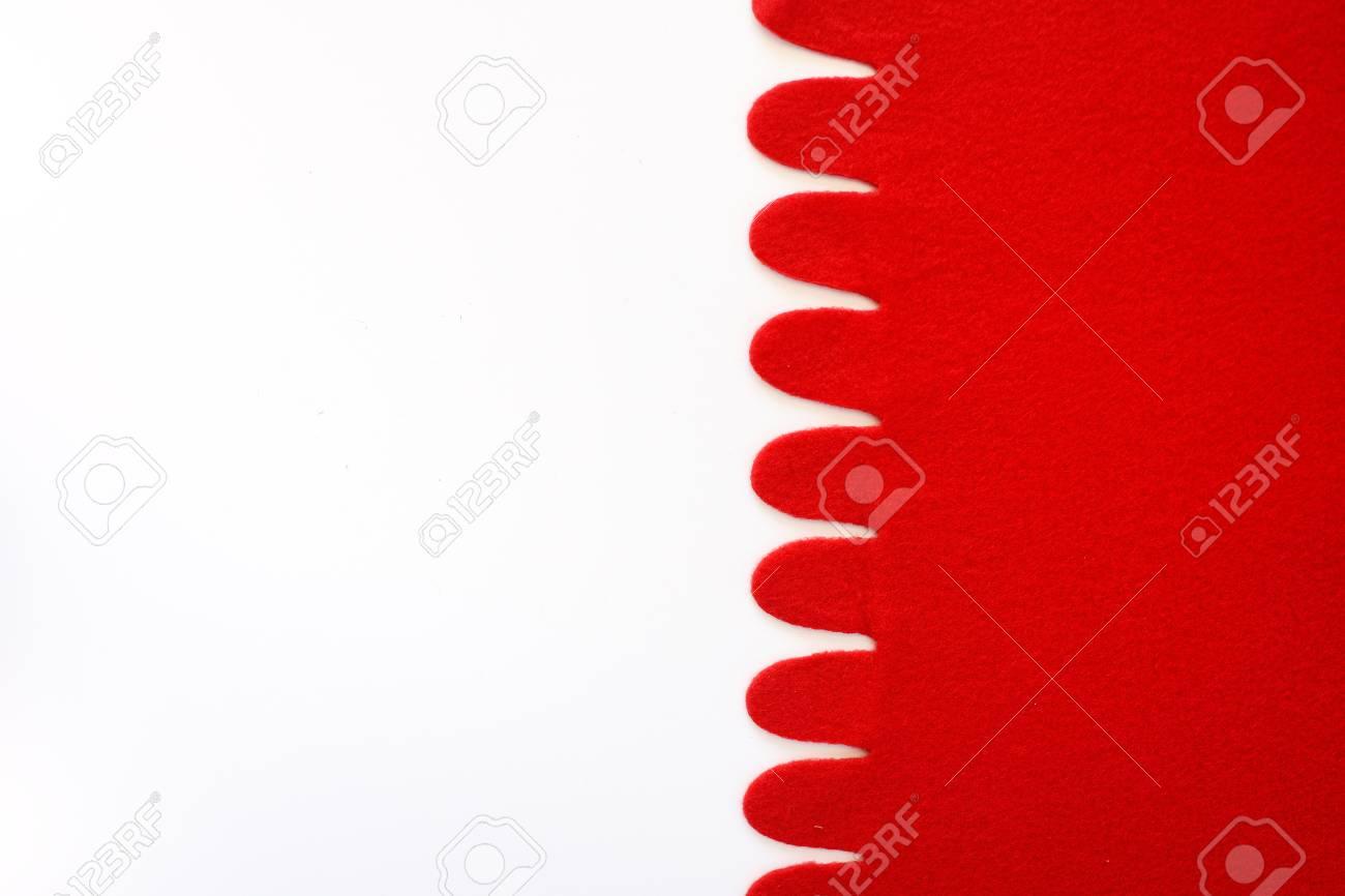 Elegant Sfondo Bianco E Rosso Sfondo