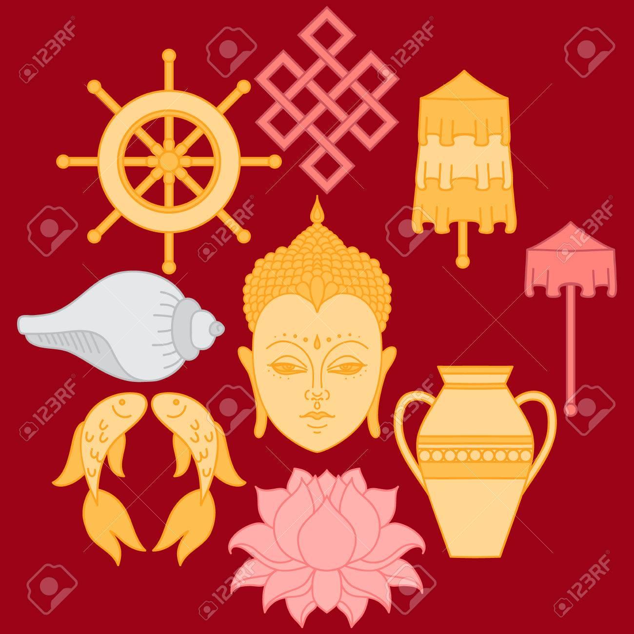 Buddhist symbolism the 8 auspicious symbols of buddhism right buddhist symbolism the 8 auspicious symbols of buddhism right coiled white conch biocorpaavc Choice Image