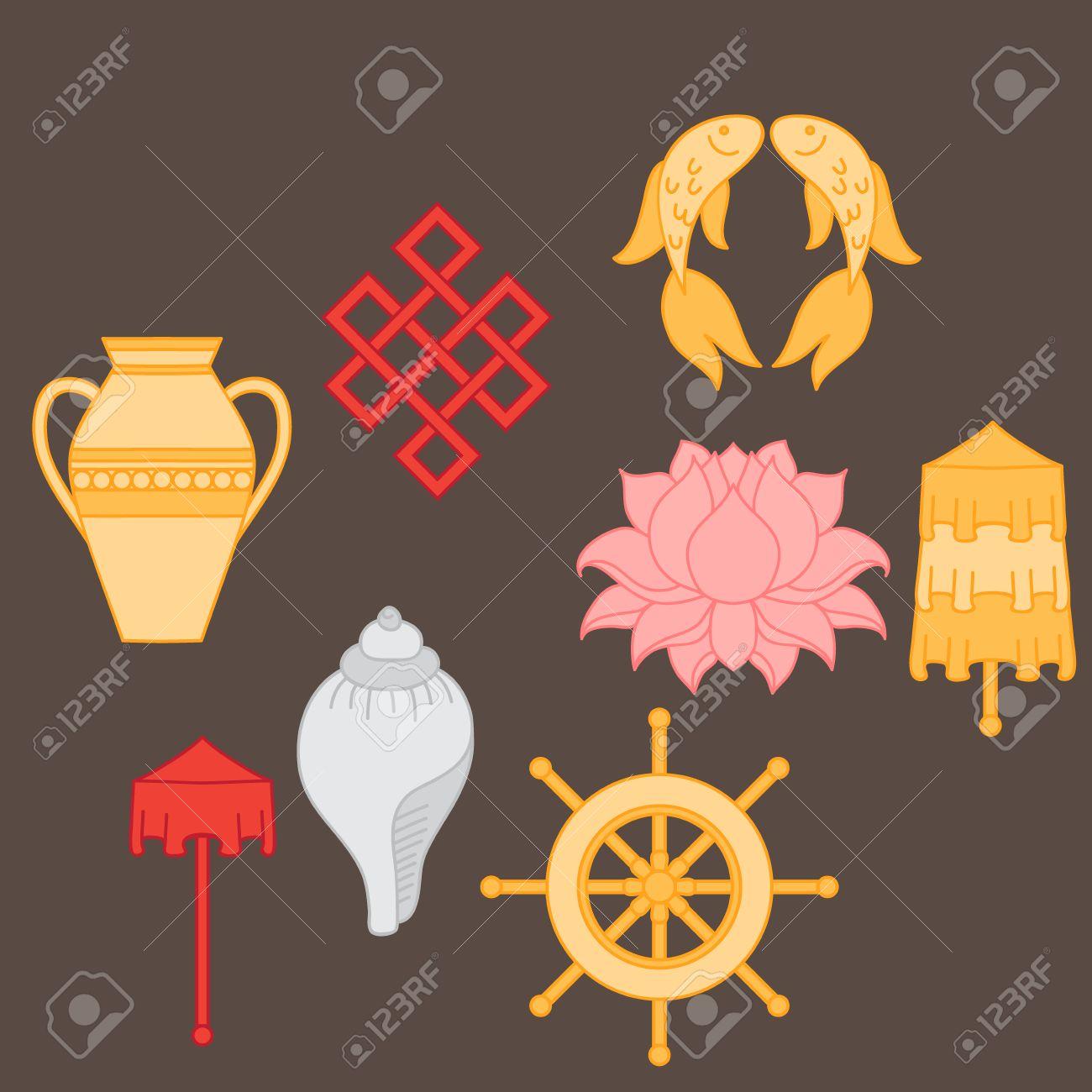 Buddhist symbolism the 8 auspicious symbols of buddhism right buddhist symbolism the 8 auspicious symbols of buddhism right coiled white conch biocorpaavc Gallery