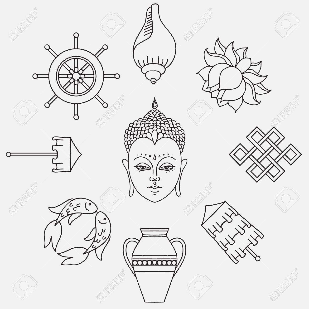 Buddhist symbolism the 8 auspicious symbols of buddhism right buddhist symbolism the 8 auspicious symbols of buddhism right coiled white conch buycottarizona Gallery