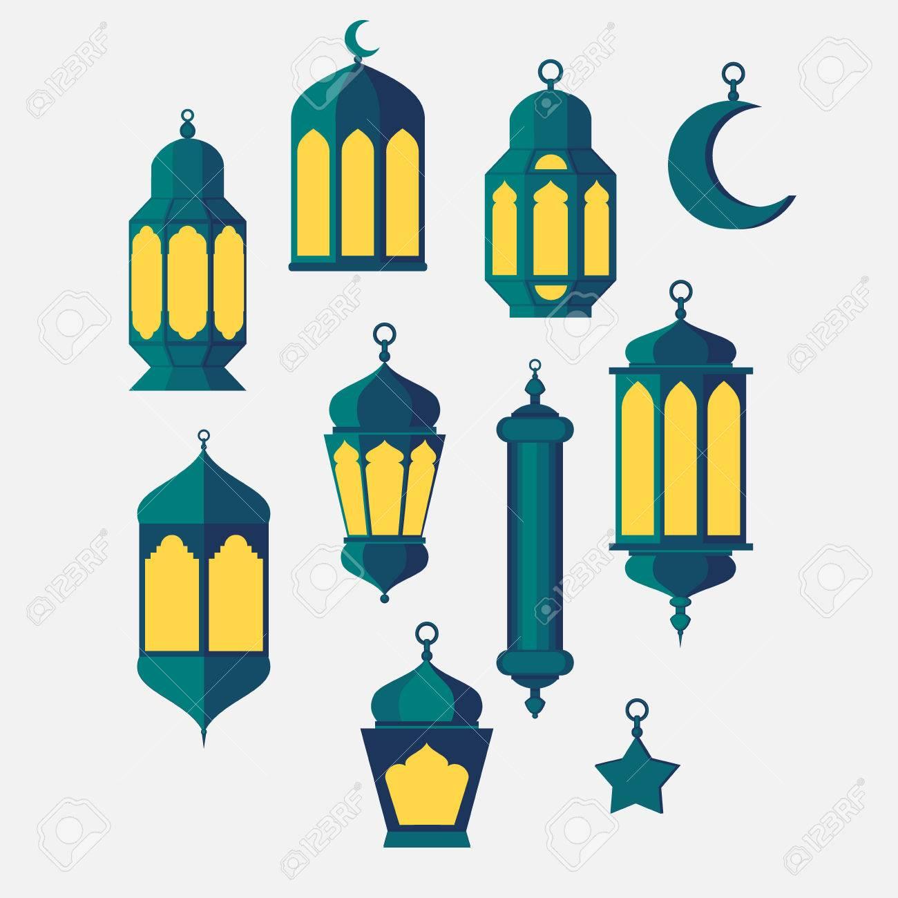 Ramadan Islamic Holy Nights, Theme Design Background Lantern ... for islamic lantern clipart  174mzq