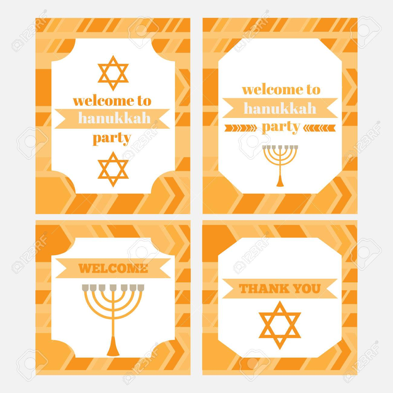 graphic about Printable Hanukkah Card referred to as Printable preset of Jewish family vacation Hanukkahparty components. Templates,..