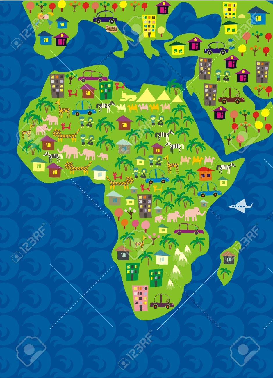 8 548 africa children cliparts stock vector and royalty free
