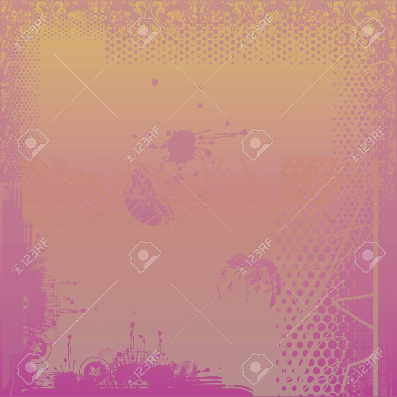 Purple grungy background Stock Vector - 11898437
