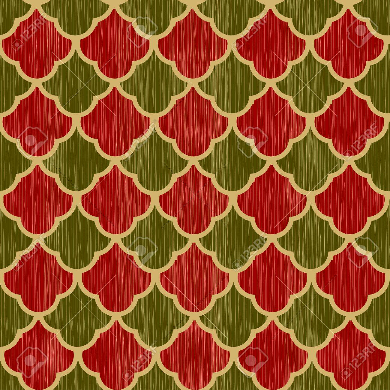 retro wrapping paper for christmas gifts seamless pattern royalty