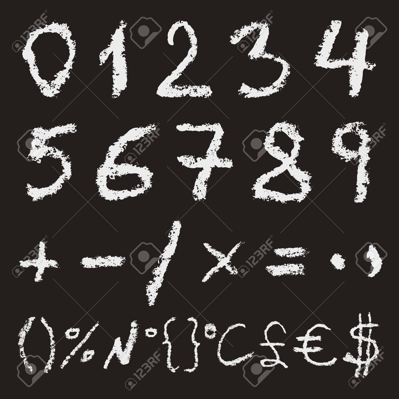 Hand written chalk numbers 0 1 2 3 4 5 6 7 8 9 hand written chalk numbers 0 1 2 3 4 5 biocorpaavc