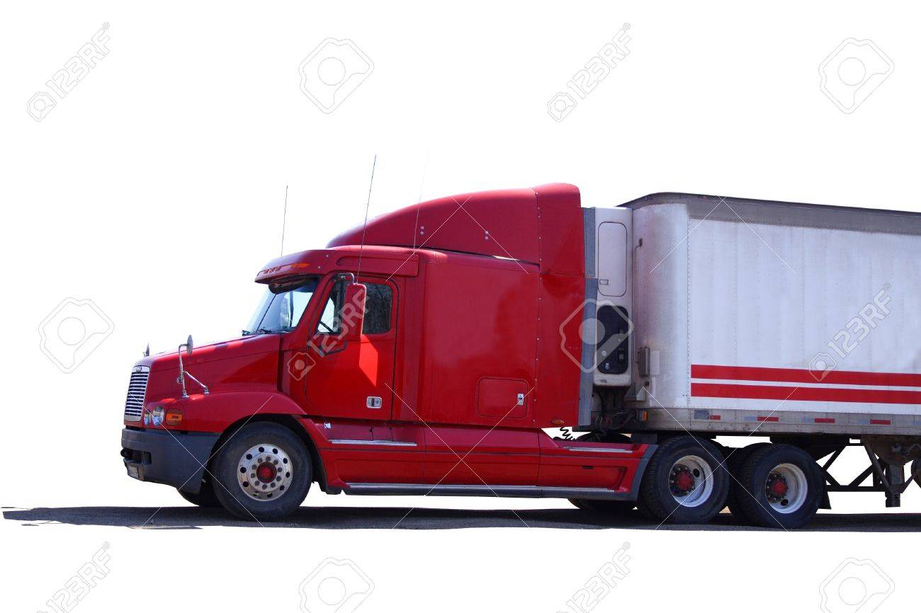 red truck Stock Photo - 410013
