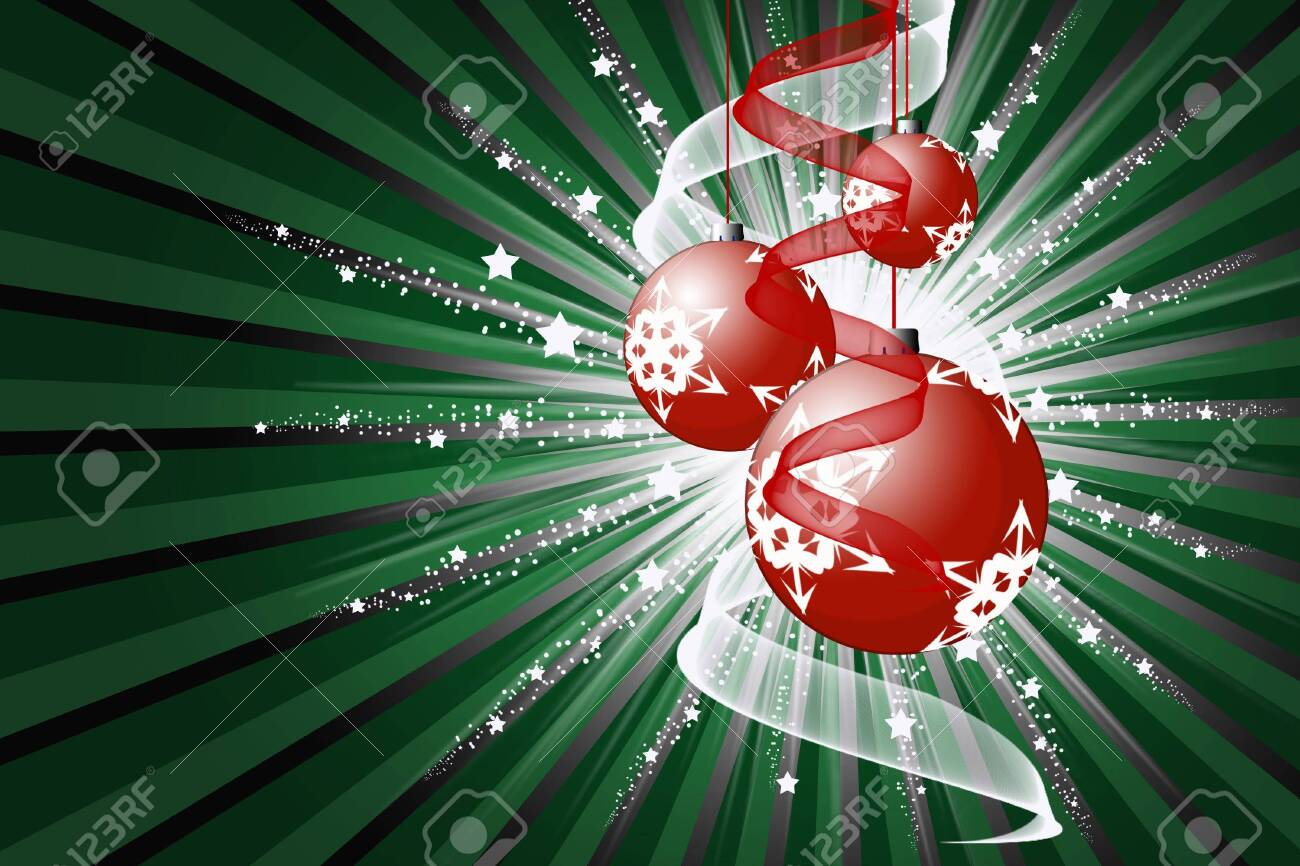 Christmas abstraction Stock Photo - 4137082