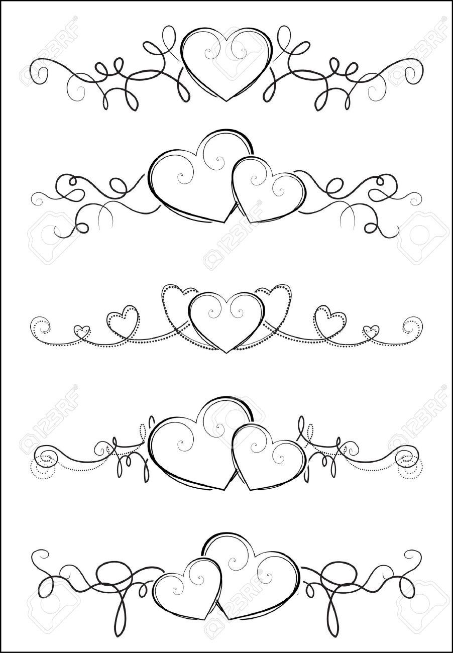 Elegant valentine design Stock Vector - 9473472