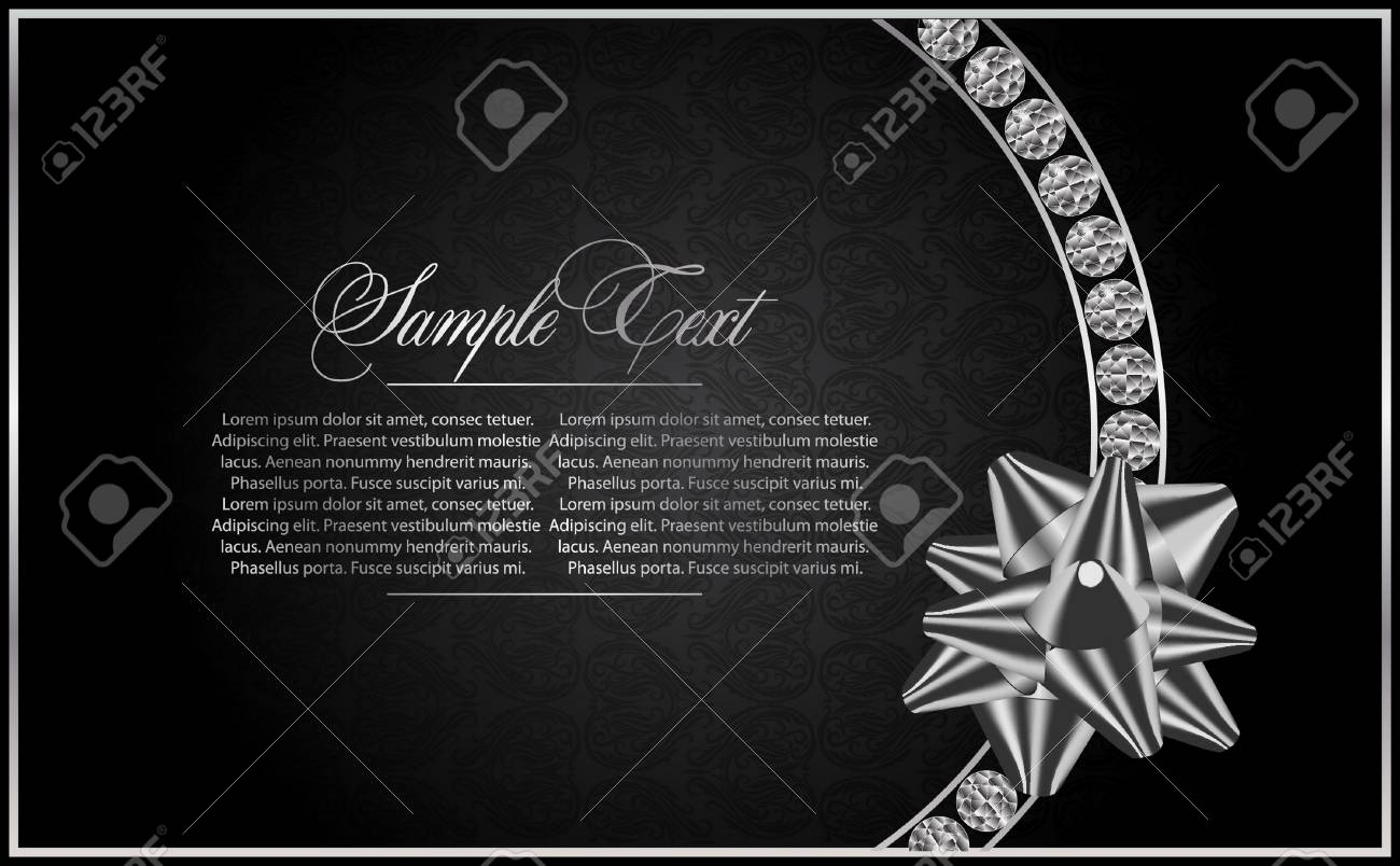 background with the Diamond Stock Vector - 9540476