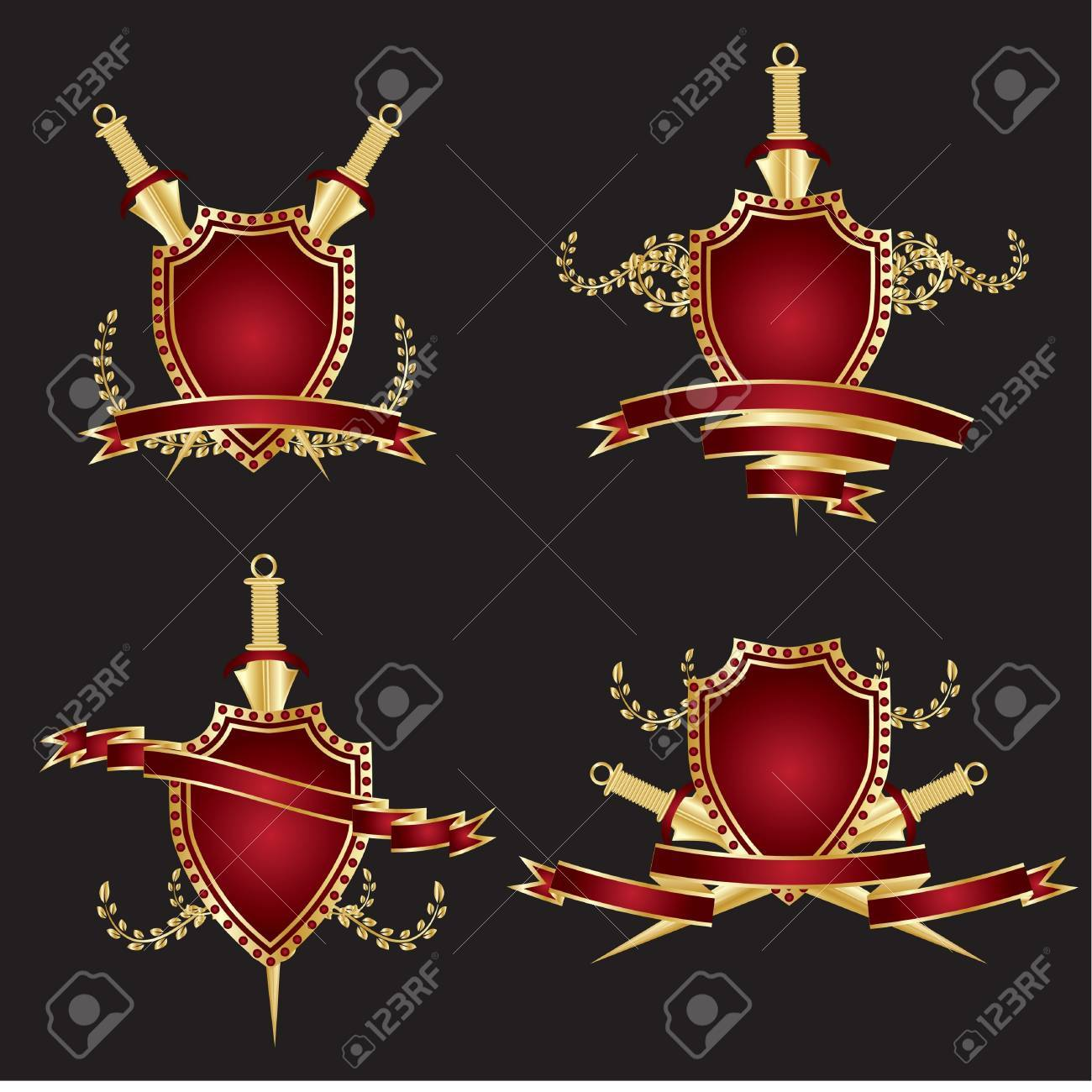 Vector armour of the knight Stock Vector - 10452546