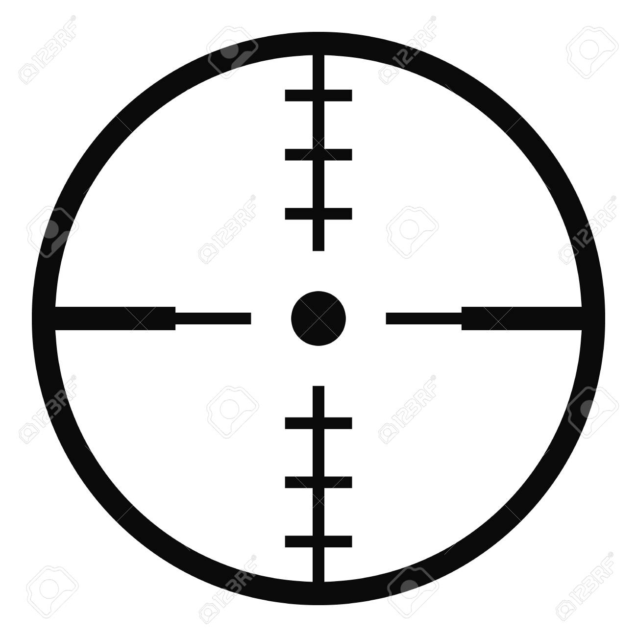 Thing Radar Icon Simple Illustration Of Thing Radar Vector Icon