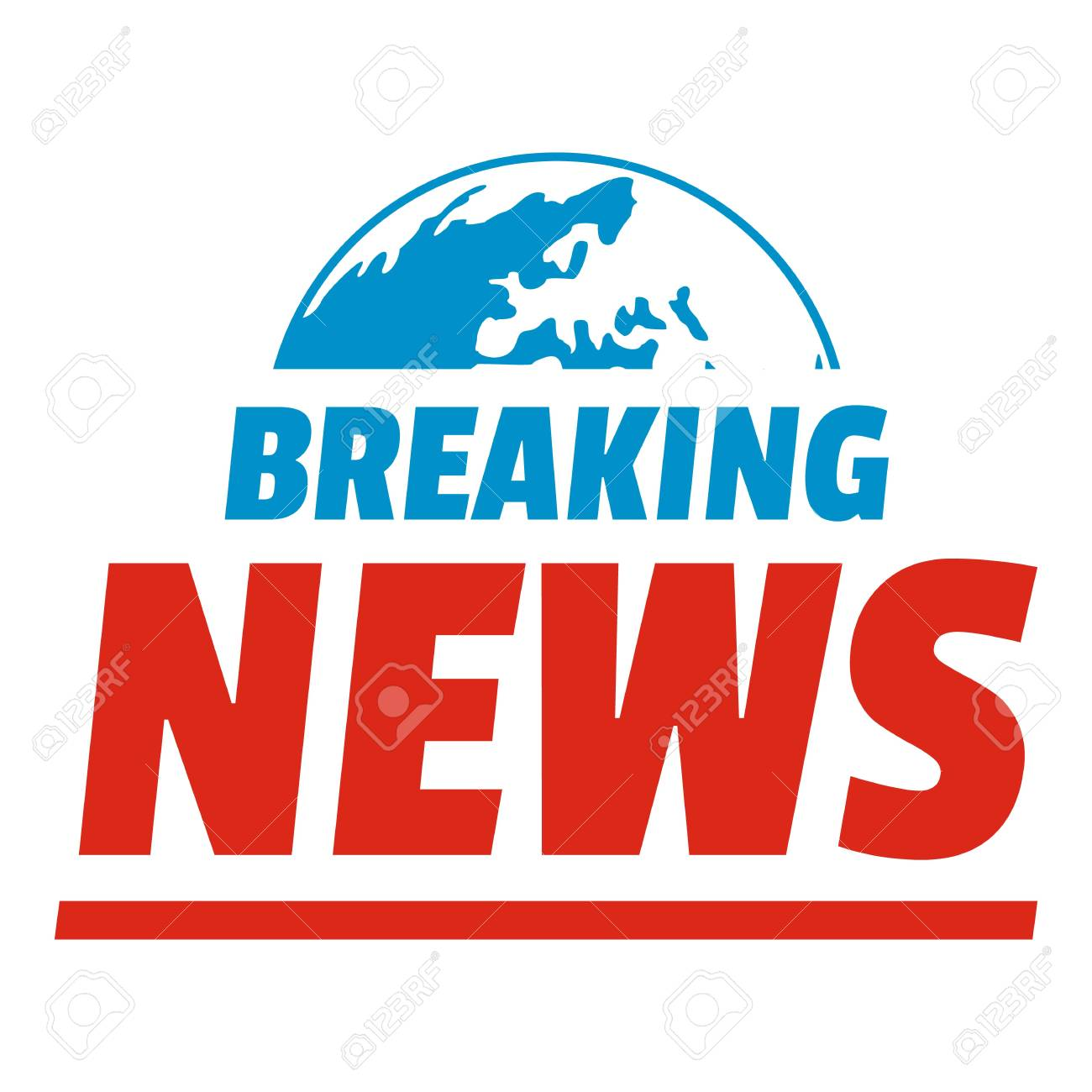 Announcement Of Breaking News Icon Flat Illustration Anouncement Ector For
