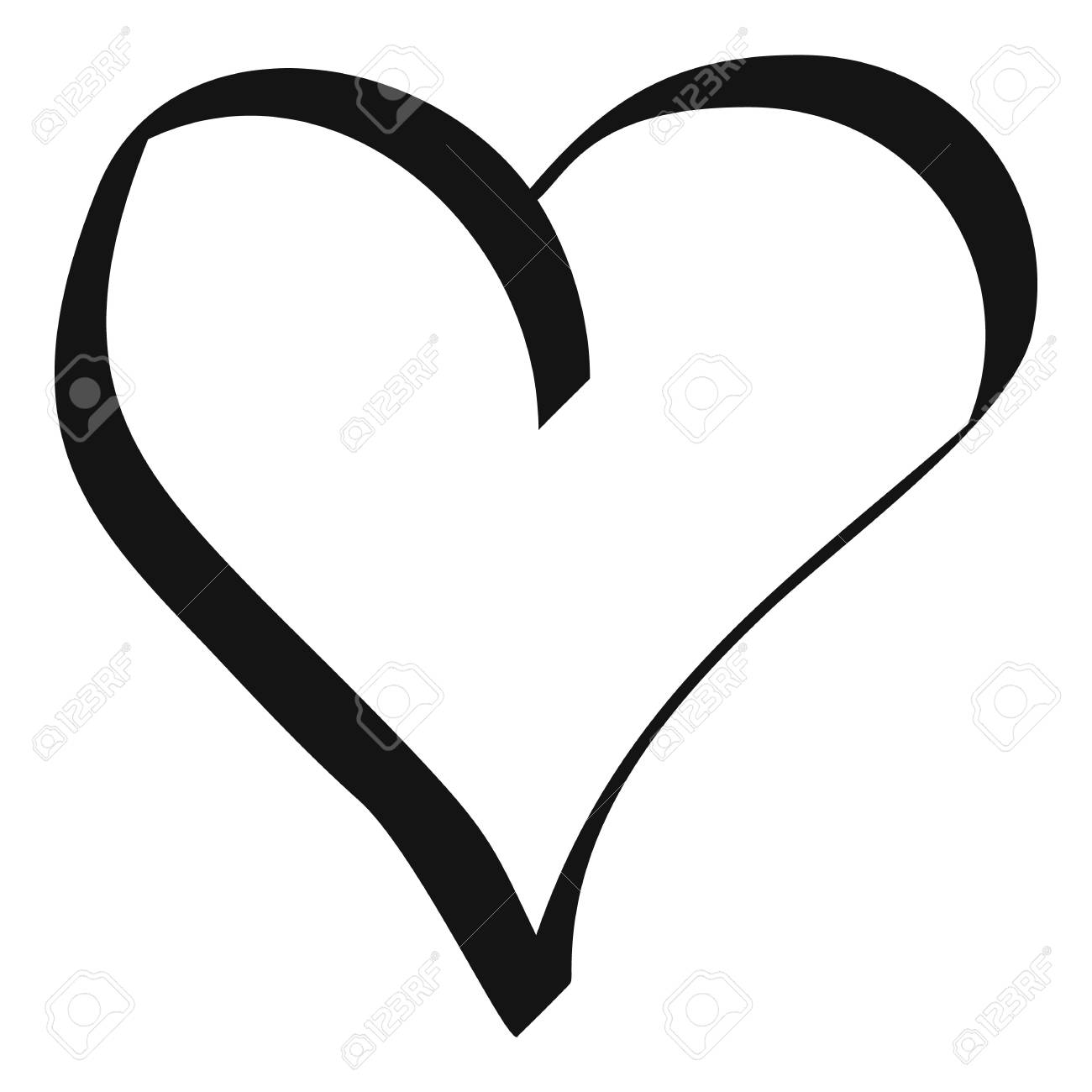 best heart icon simple illustration of best heart vector icon