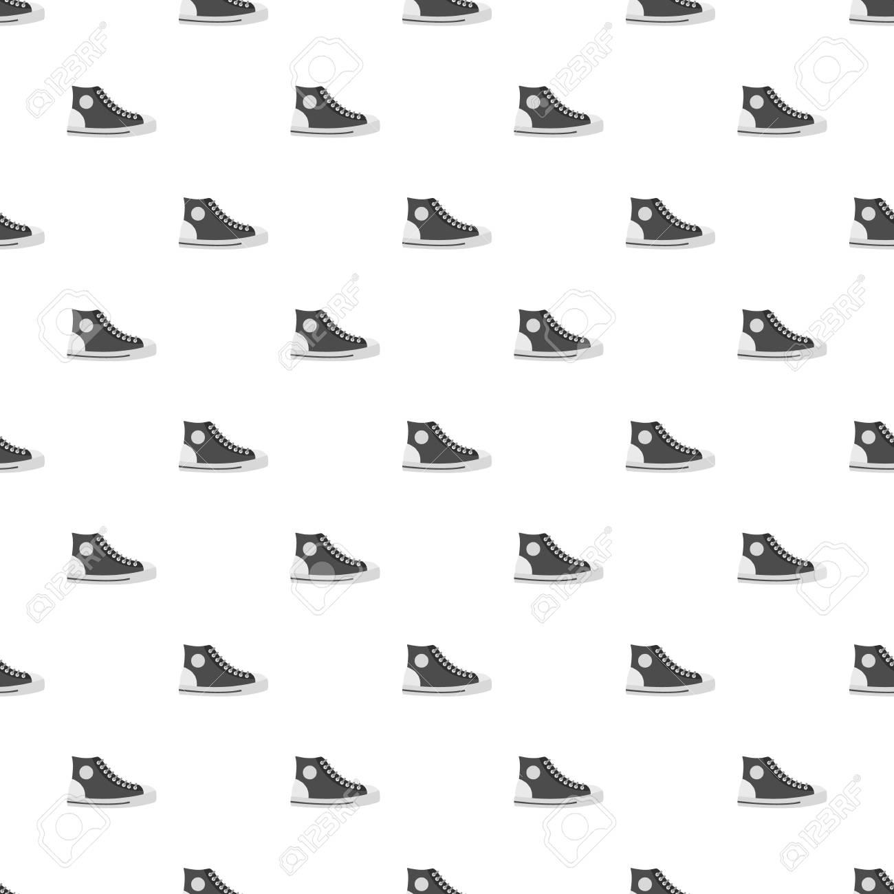 Zapato de hombre sin costuras en estilo plano para cualquier diseño.