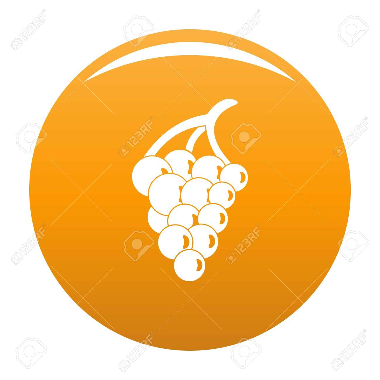 Grape For Restaurant Icon Simple Illustration Of Grape For Restaurant