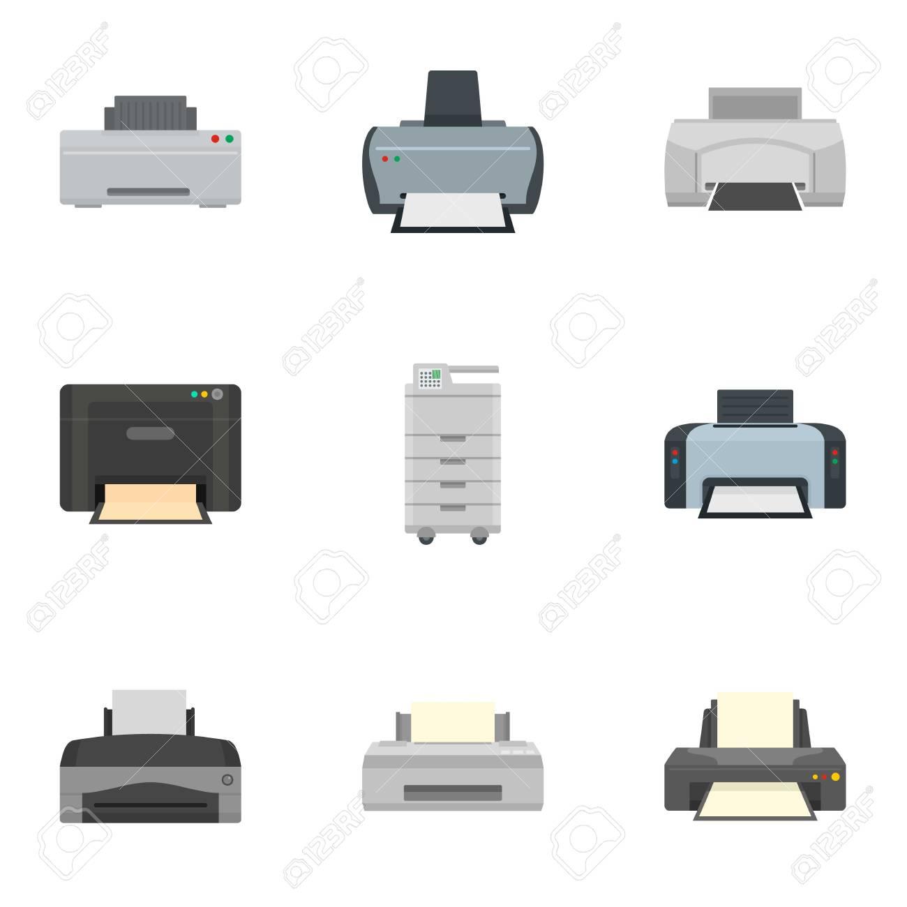 inkjet printer icon set flat set of 9 inkjet printer vector royalty free cliparts vectors and stock illustration image 109592986 inkjet printer icon set flat set of 9 inkjet printer vector