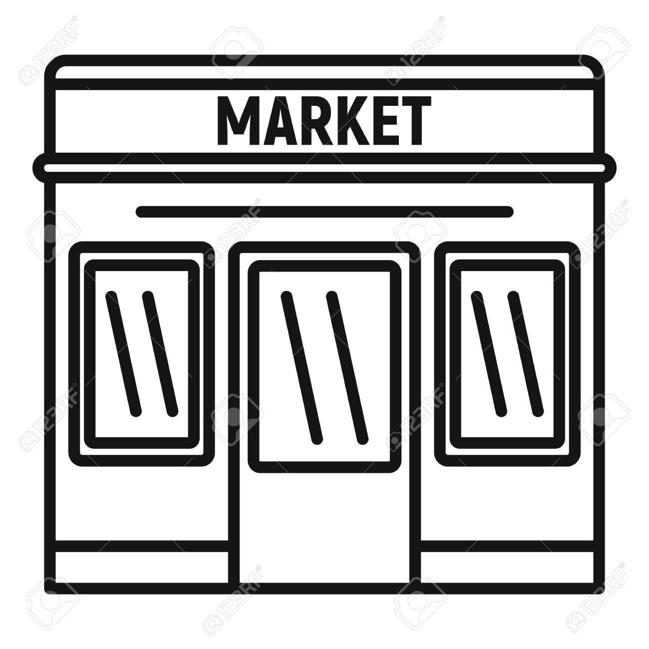 Vendors Street Market Thailand Vector Illustration Stock Vector (Royalty  Free) 1507786214