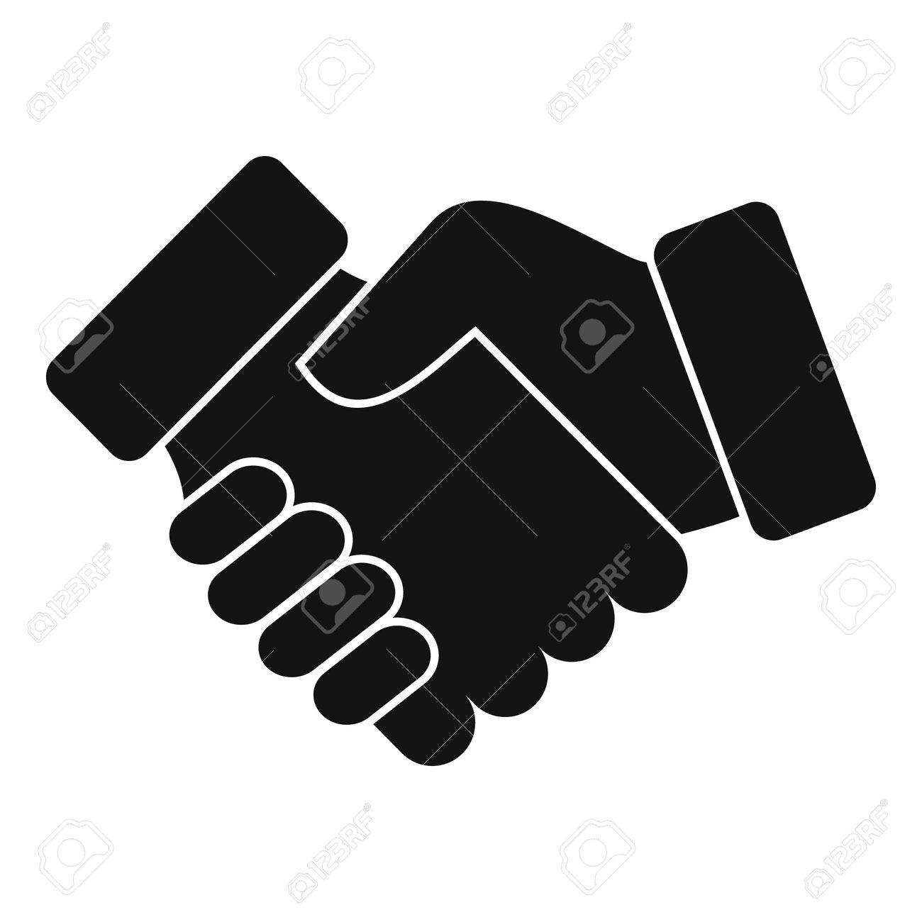 Credit handshake icon, simple style - 166781411
