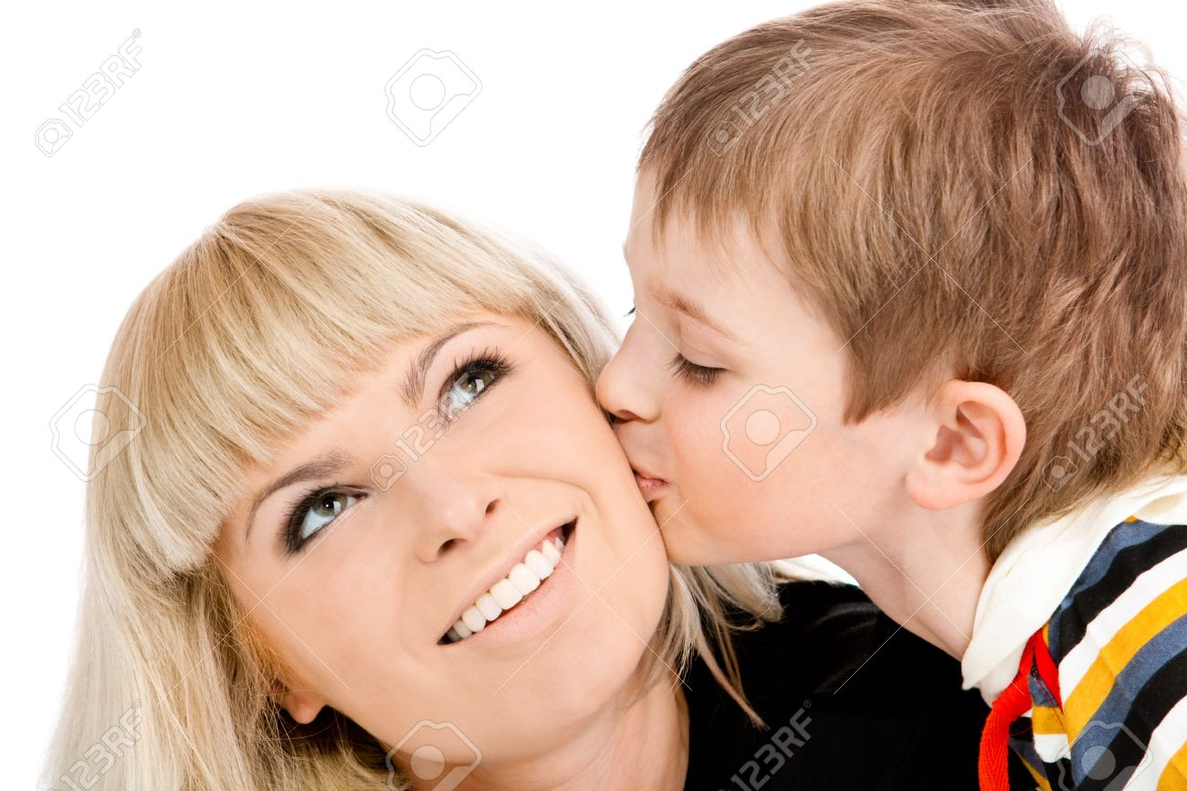 Image result for A CHILD KISSIN MOTHER