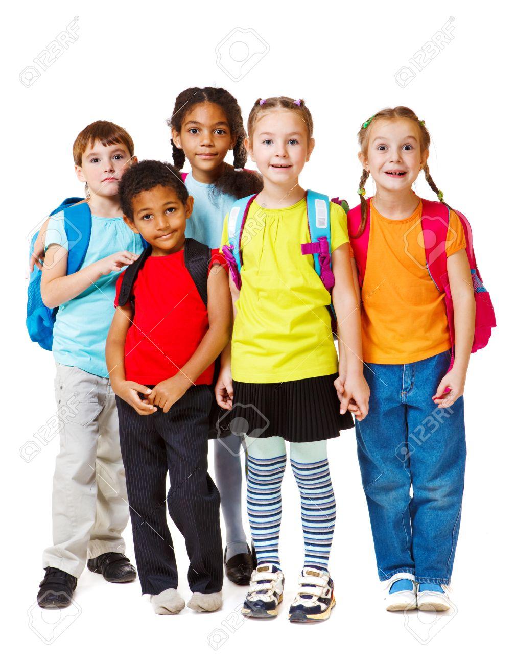 preschool child group of school aged and preschool kids - Images Of Preschool Children
