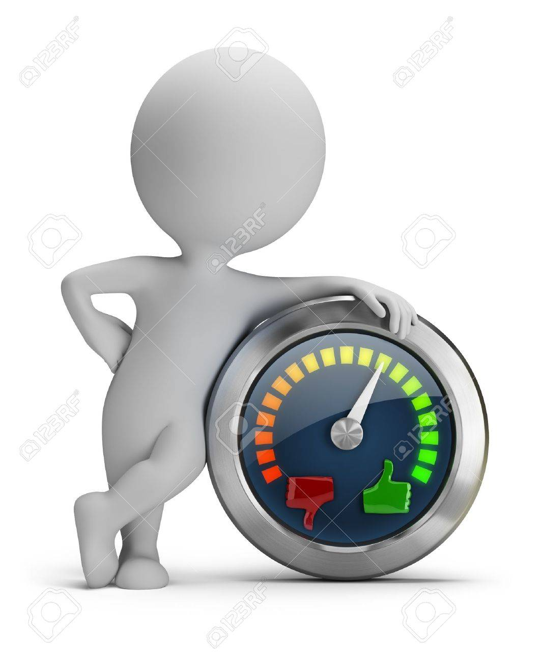 Mood Bilder 3d small with mood meter 3d image isolated white background